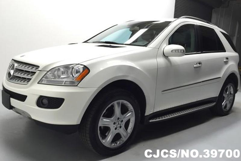 2007 left hand mercedes benz m class white for sale for 2007 mercedes benz ml350 for sale