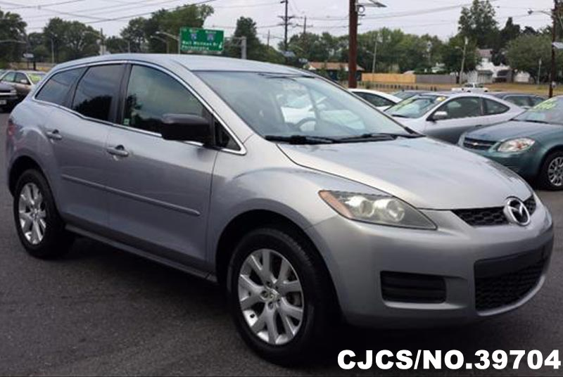 2007 Left Hand Mazda Cx7 Dark Gray For Sale Stock No 39704 Left Hand Used Cars Exporter