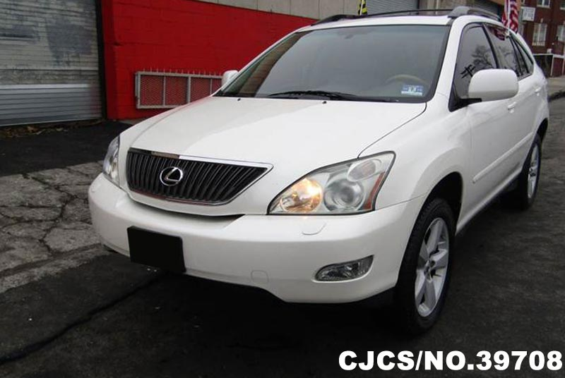 2007 left hand lexus rx 350 white for sale stock no 39708 left hand used cars exporter. Black Bedroom Furniture Sets. Home Design Ideas