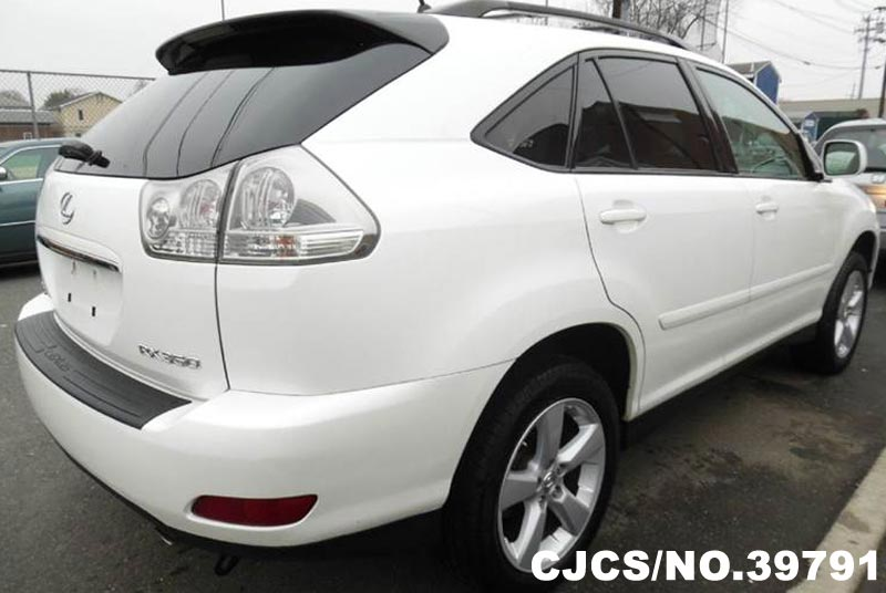 2007 left hand lexus rx 350 white for sale stock no 39791 left hand used cars exporter. Black Bedroom Furniture Sets. Home Design Ideas