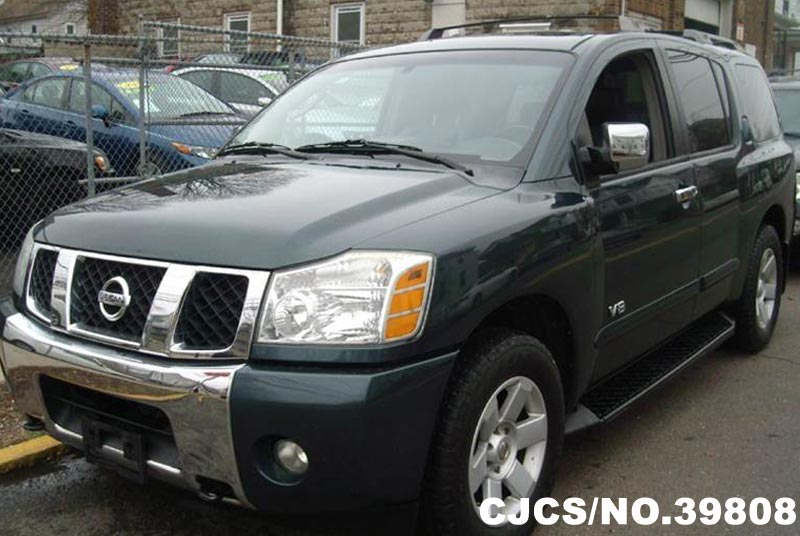 2006 left hand nissan armada green for sale stock no 39808 left hand used cars exporter. Black Bedroom Furniture Sets. Home Design Ideas