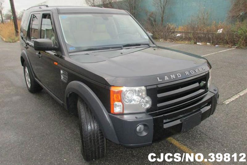 2006 left hand land rover lr3 black for sale stock no 39812 left hand used cars exporter. Black Bedroom Furniture Sets. Home Design Ideas