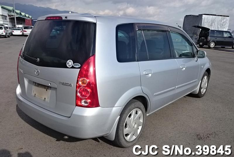 2003 mazda premacy silver for sale stock no 39845 japanese used cars exporter. Black Bedroom Furniture Sets. Home Design Ideas