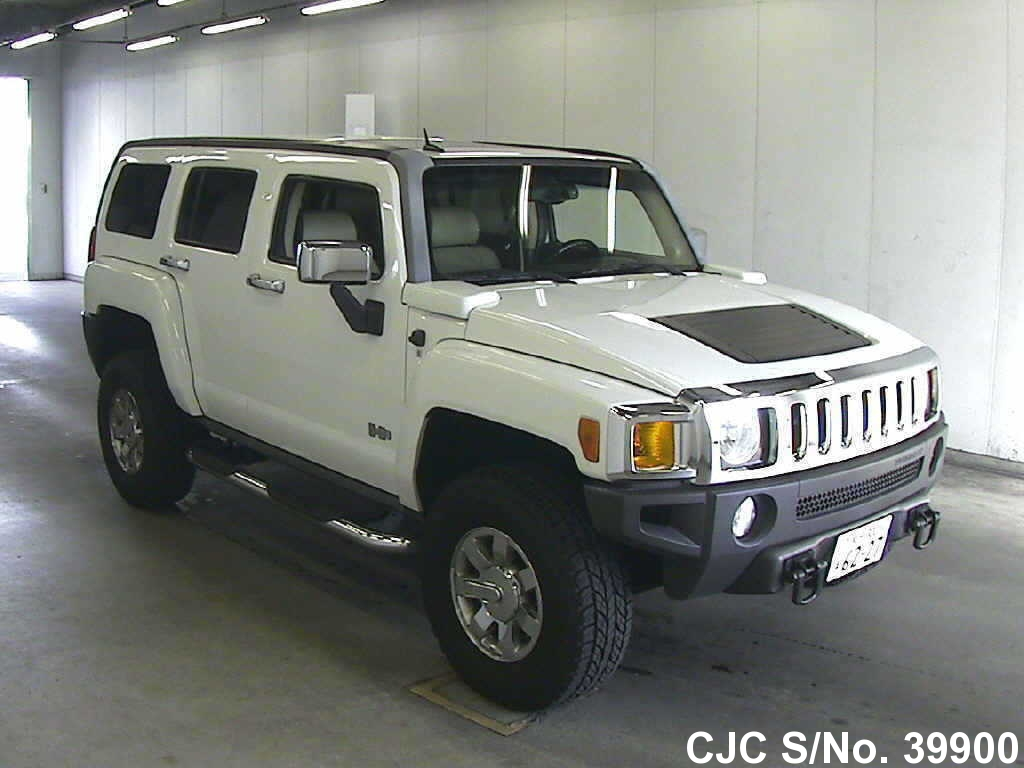 2011 hummer h3 white for sale stock no 39900 japanese used cars exporter. Black Bedroom Furniture Sets. Home Design Ideas