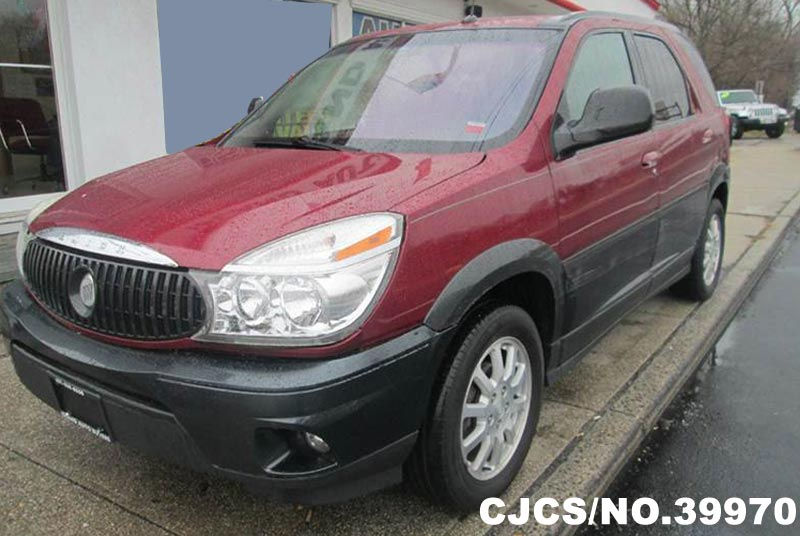 2005 left hand buick rendezvous red metallic for sale stock no 39970 left hand used cars. Black Bedroom Furniture Sets. Home Design Ideas