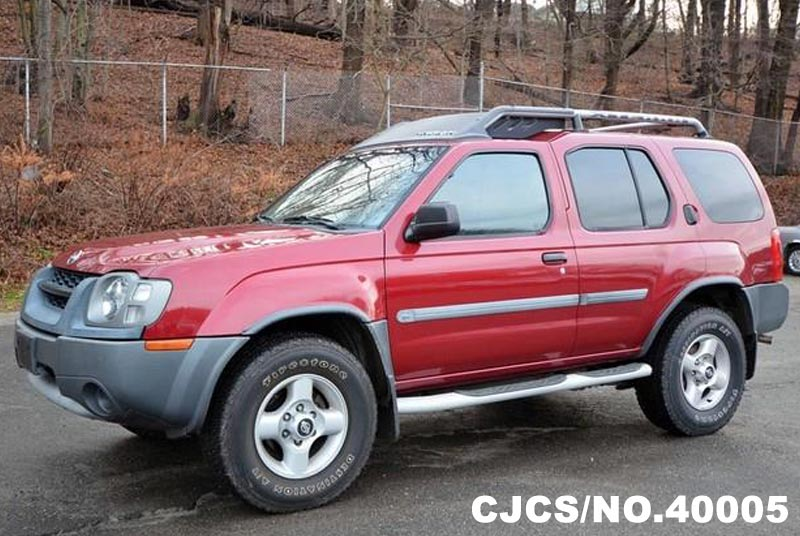 2002 left hand nissan xterra red for sale stock no. Black Bedroom Furniture Sets. Home Design Ideas