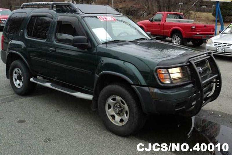 2001 left hand nissan xterra green for sale stock no 40010 left hand used cars exporter. Black Bedroom Furniture Sets. Home Design Ideas