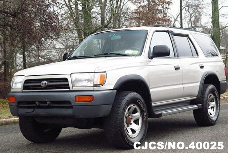 1998 left hand toyota 4runner white for sale stock no. Black Bedroom Furniture Sets. Home Design Ideas
