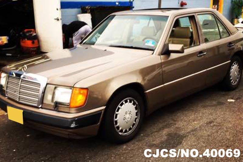 1991 Left Hand Mercedes Benz 300e Gold For Sale Stock No
