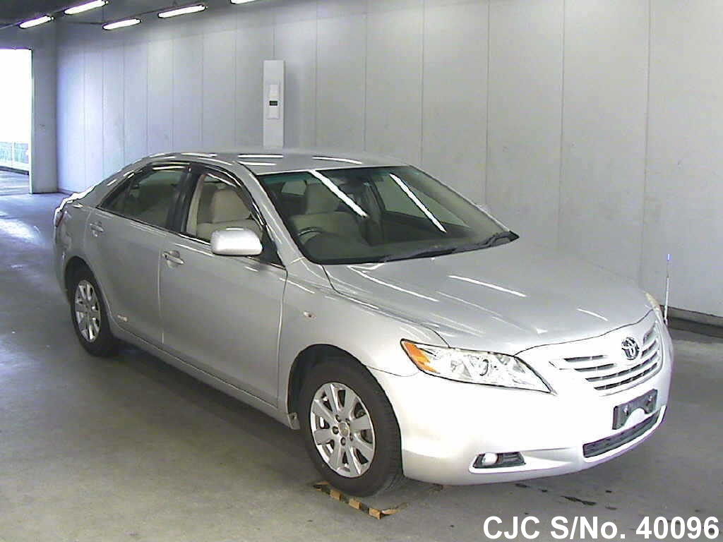 2008 toyota camry silver for sale stock no 40096. Black Bedroom Furniture Sets. Home Design Ideas
