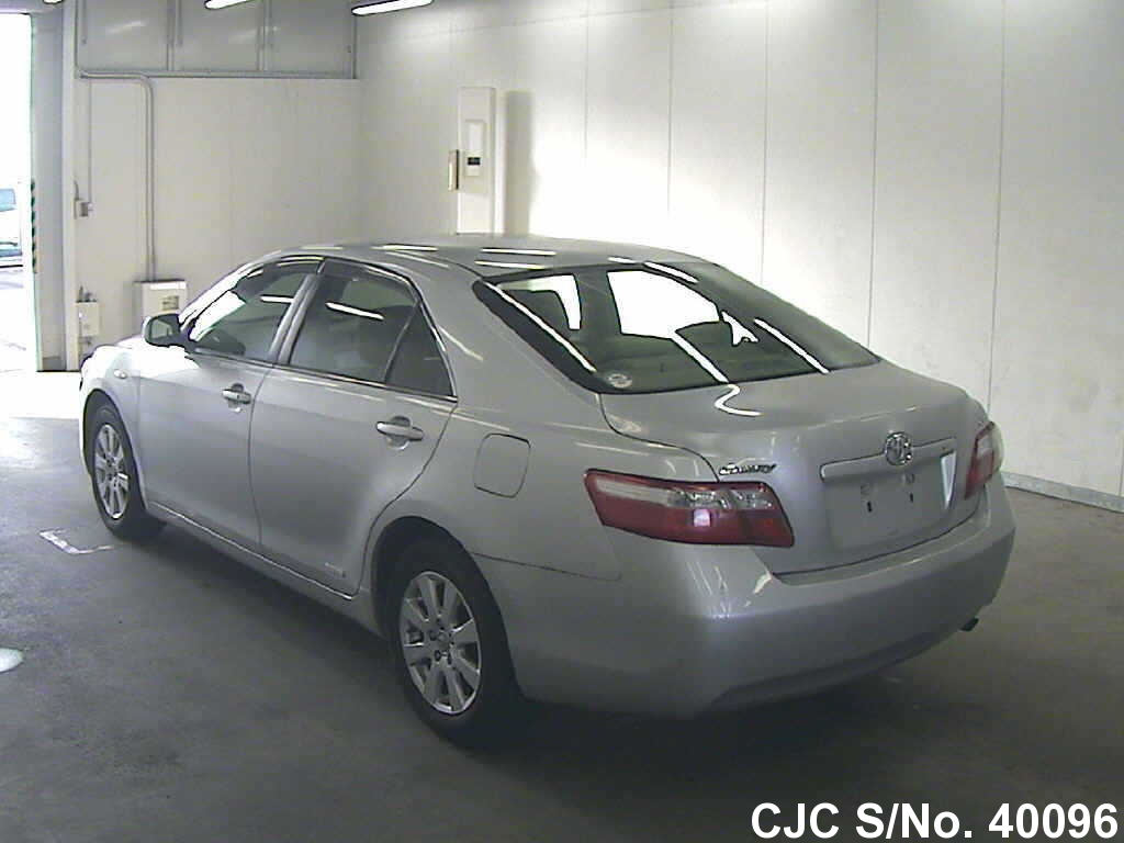 2008 toyota camry silver for sale stock no 40096 japanese used cars exporter. Black Bedroom Furniture Sets. Home Design Ideas