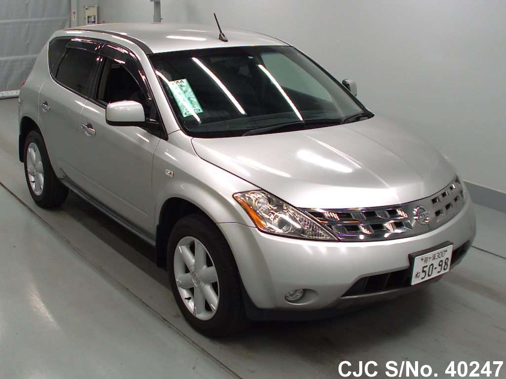2005 nissan murano silver for sale stock no 40247. Black Bedroom Furniture Sets. Home Design Ideas