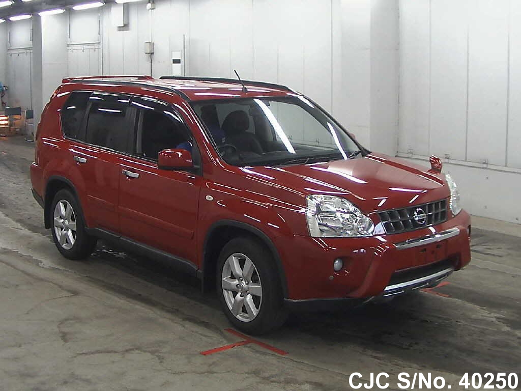 2008 nissan x trail red for sale stock no 40250. Black Bedroom Furniture Sets. Home Design Ideas
