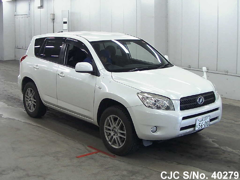2007 toyota rav4 pearl for sale stock no 40279 japanese used cars exporter. Black Bedroom Furniture Sets. Home Design Ideas