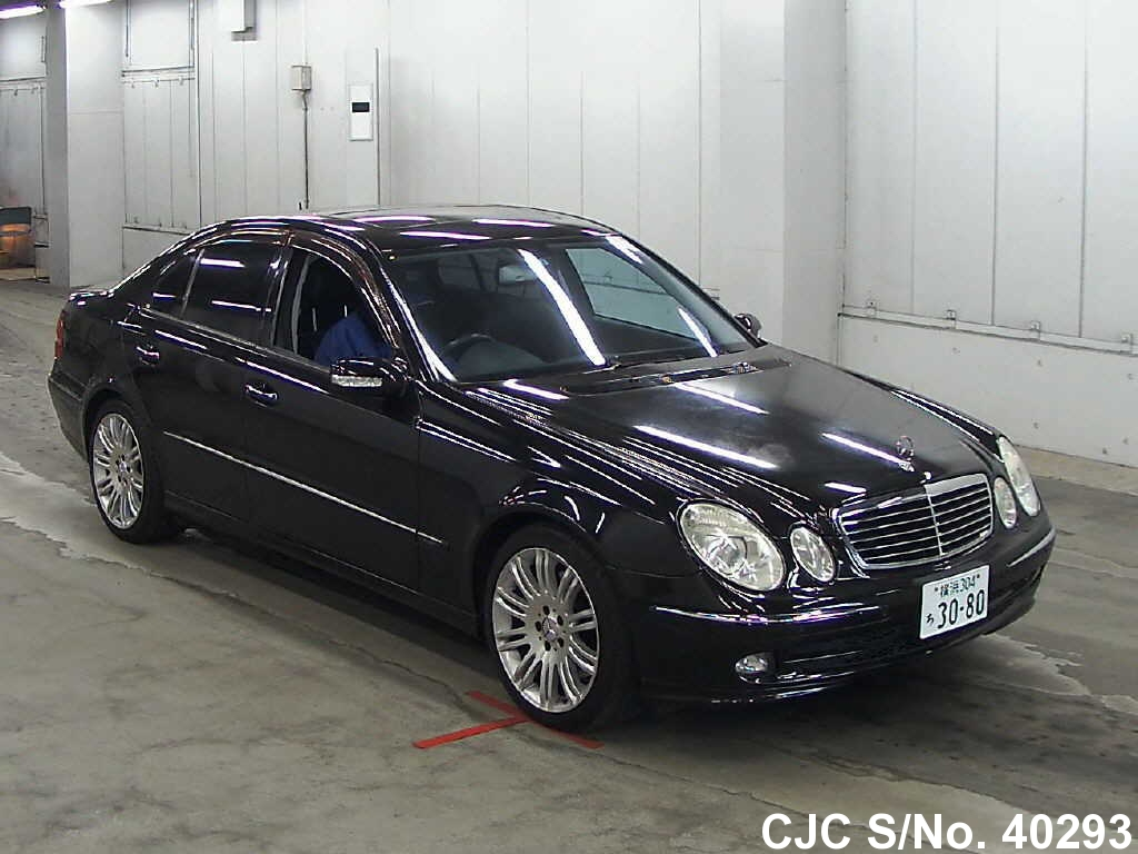 2006 mercedes benz e class black for sale stock no. Black Bedroom Furniture Sets. Home Design Ideas