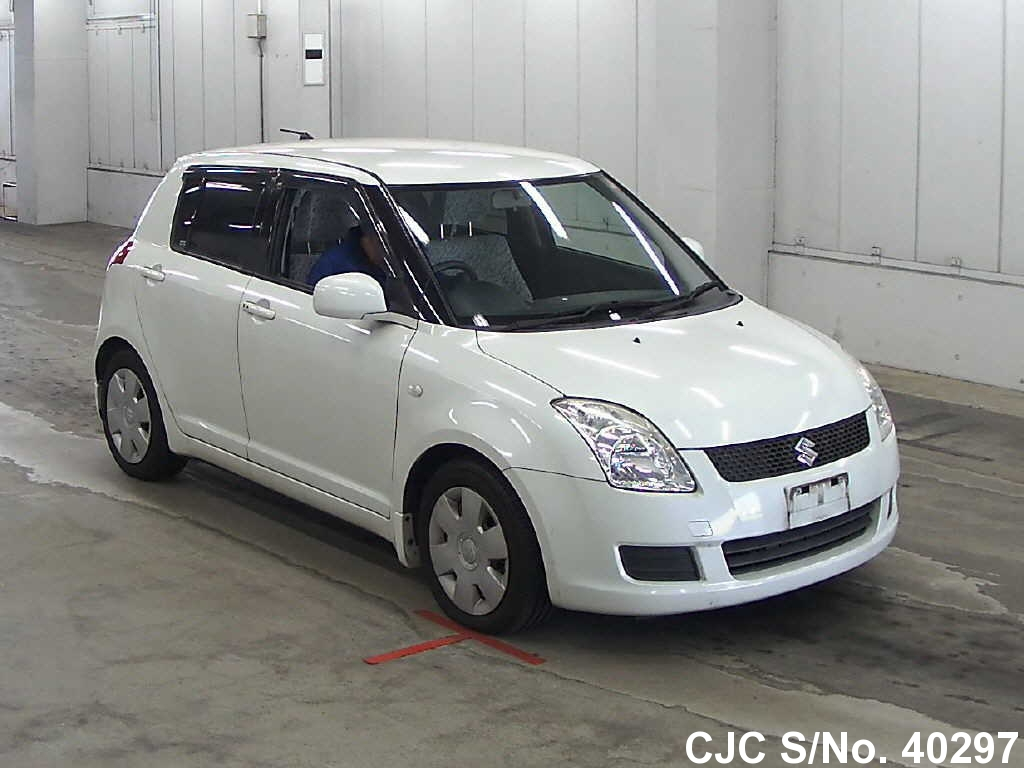 2008 suzuki swift pearl for sale stock no 40297 japanese used cars exporter. Black Bedroom Furniture Sets. Home Design Ideas