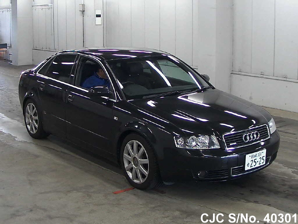 2004 audi a4 black for sale stock no 40301 japanese used cars exporter. Black Bedroom Furniture Sets. Home Design Ideas