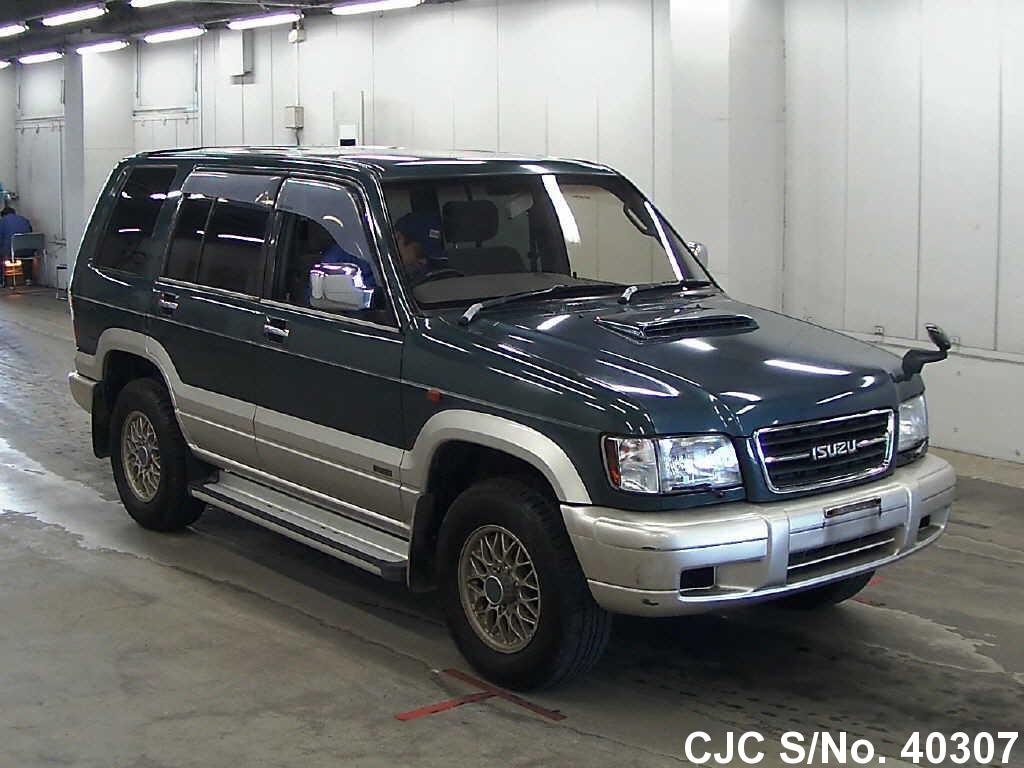 1998 Isuzu Bighorn/ Trooper Green for sale   Stock No  40307