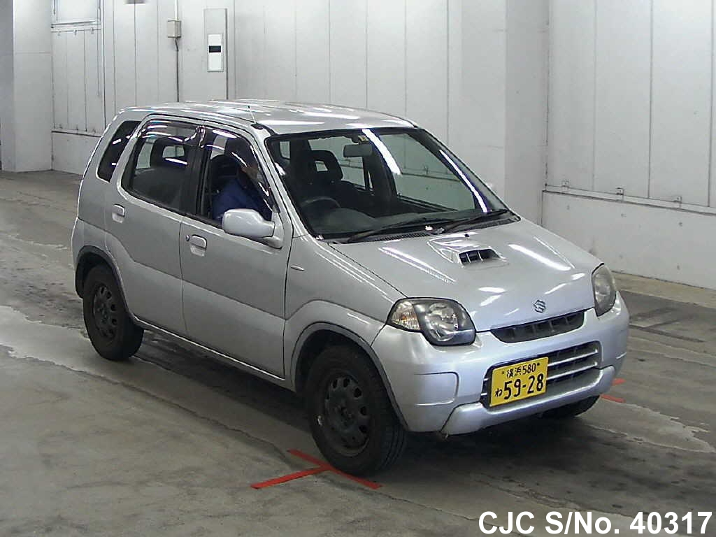 2000 suzuki kei silver for sale stock no 40317 japanese used cars exporter. Black Bedroom Furniture Sets. Home Design Ideas