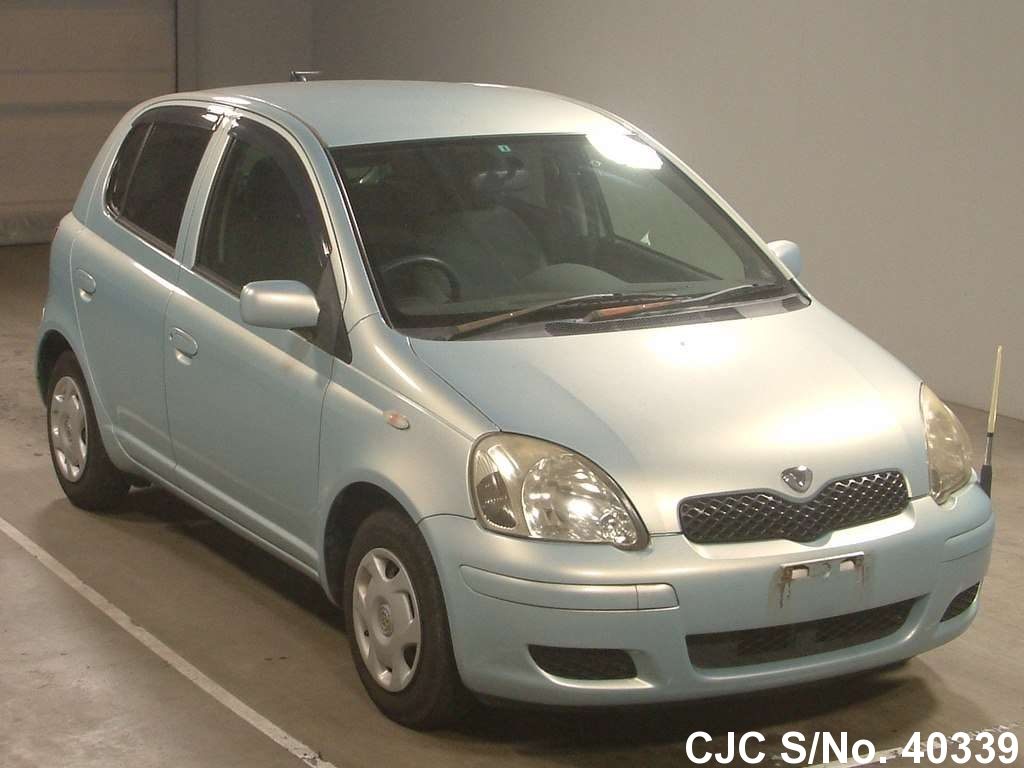 2003 toyota vitz yaris blue for sale stock no 40339 japanese used cars exporter. Black Bedroom Furniture Sets. Home Design Ideas