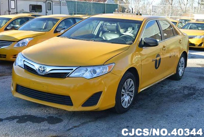 2013 left hand toyota camry yellow for sale stock no 40344 left hand used cars exporter. Black Bedroom Furniture Sets. Home Design Ideas