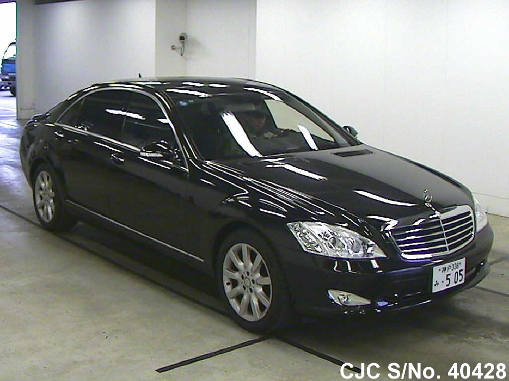 2007 left hand mercedes benz s class black for sale for Used mercedes benz s550 for sale
