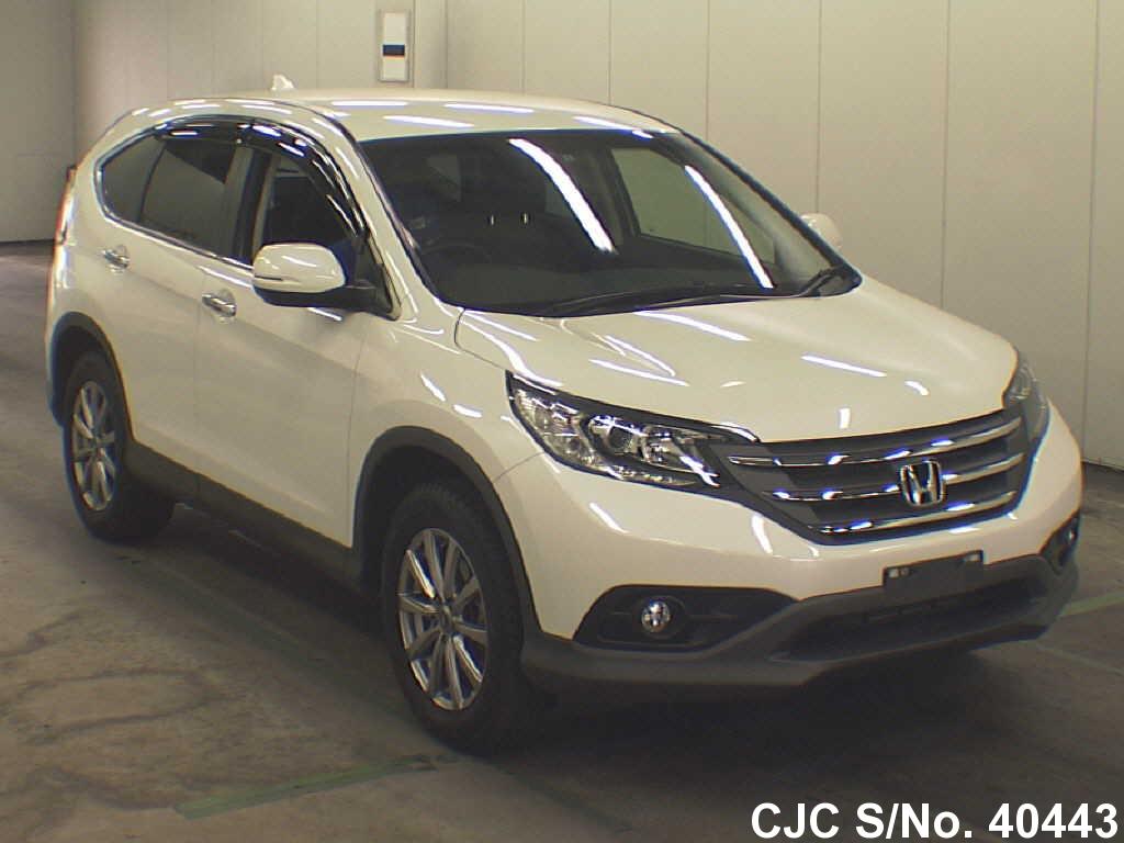 2013 honda crv pearl for sale stock no 40443 japanese used cars exporter. Black Bedroom Furniture Sets. Home Design Ideas