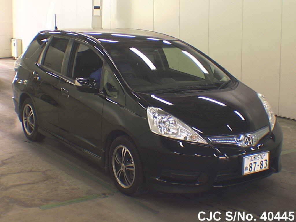 2012 honda fit shuttle black for sale stock no 40445 japanese used cars exporter. Black Bedroom Furniture Sets. Home Design Ideas
