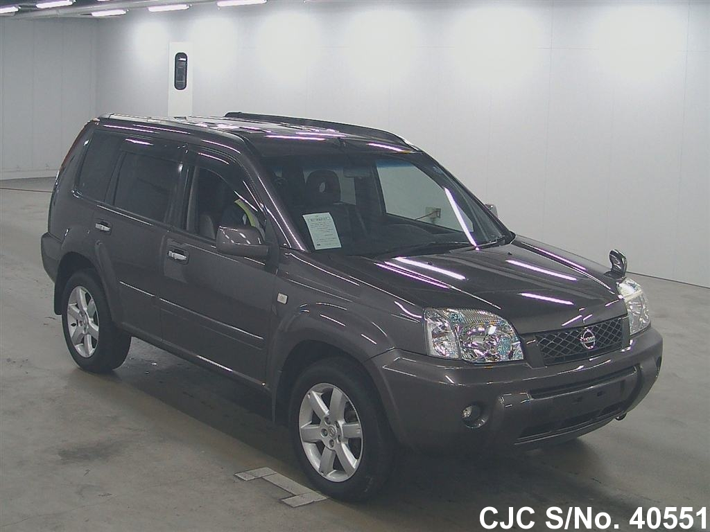 2006 nissan x trail gray for sale stock no 40551 japanese used cars exporter. Black Bedroom Furniture Sets. Home Design Ideas