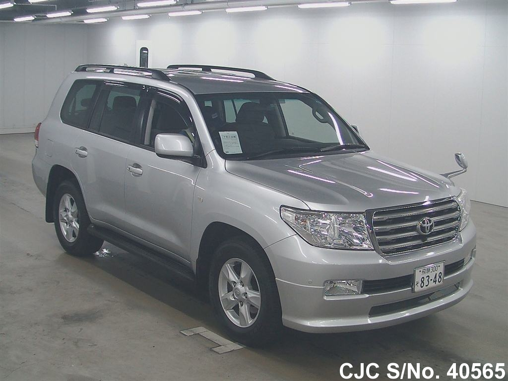2007 toyota land cruiser silver for sale stock no 40565. Black Bedroom Furniture Sets. Home Design Ideas