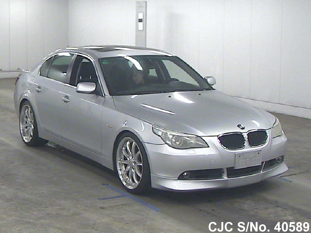 2003 left hand bmw 5 series silver for sale stock no 40589 left hand used cars exporter. Black Bedroom Furniture Sets. Home Design Ideas