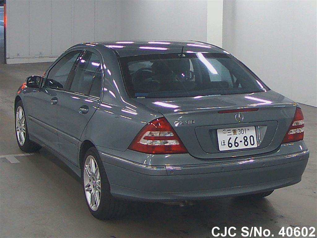 2006 mercedes benz c class gray for sale stock no 40602 for Mercedes benz c class 2006 for sale