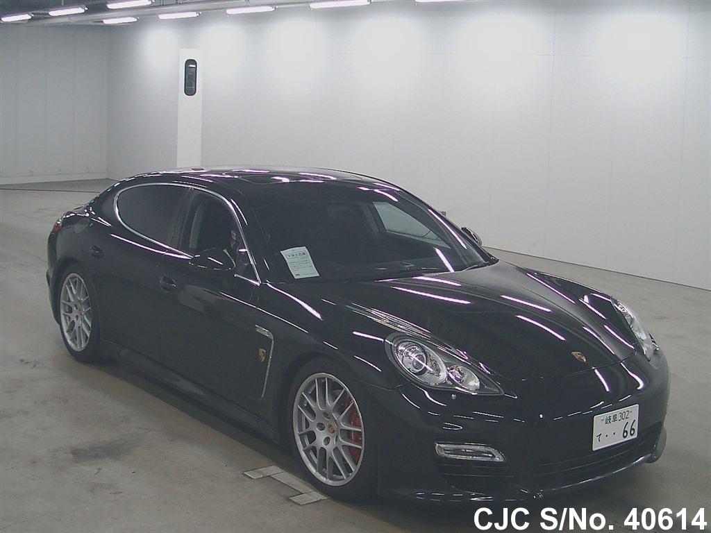 2010 porsche panamera black for sale stock no 40614 japanese used cars exporter. Black Bedroom Furniture Sets. Home Design Ideas