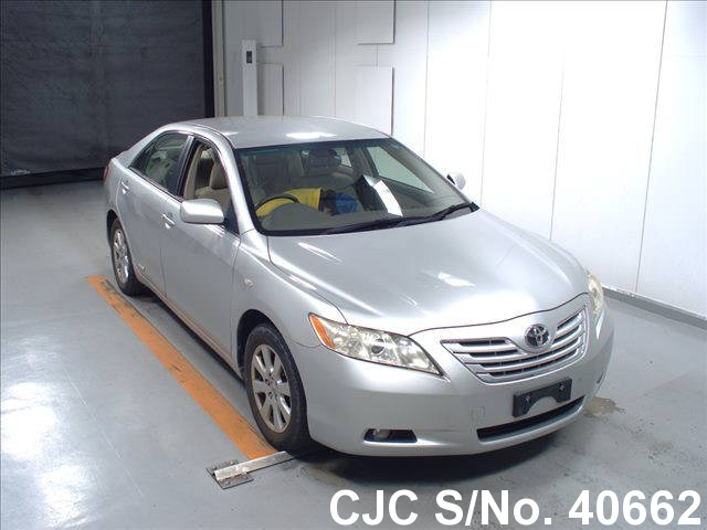 2008 toyota camry silver for sale stock no 40662. Black Bedroom Furniture Sets. Home Design Ideas
