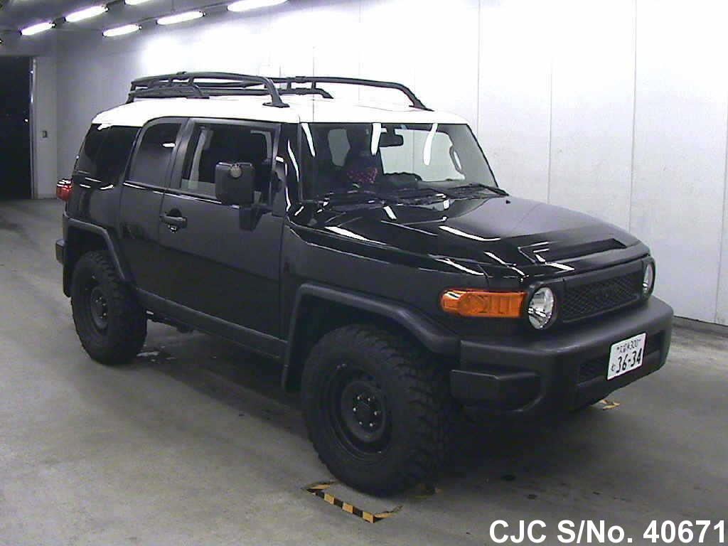 2011 toyota fj cruiser black for sale stock no 40671. Black Bedroom Furniture Sets. Home Design Ideas