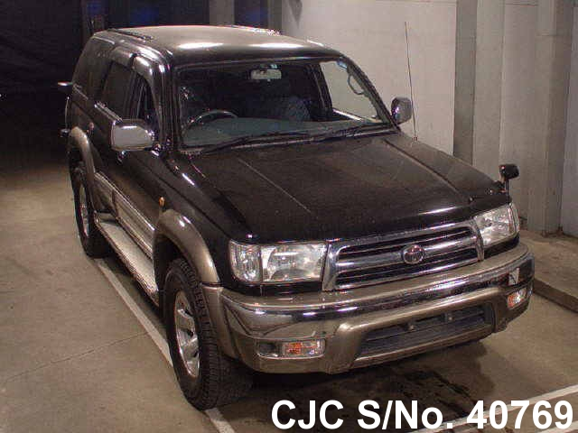1999 toyota hilux surf 4runner black for sale stock no 40769 japanese used cars exporter. Black Bedroom Furniture Sets. Home Design Ideas