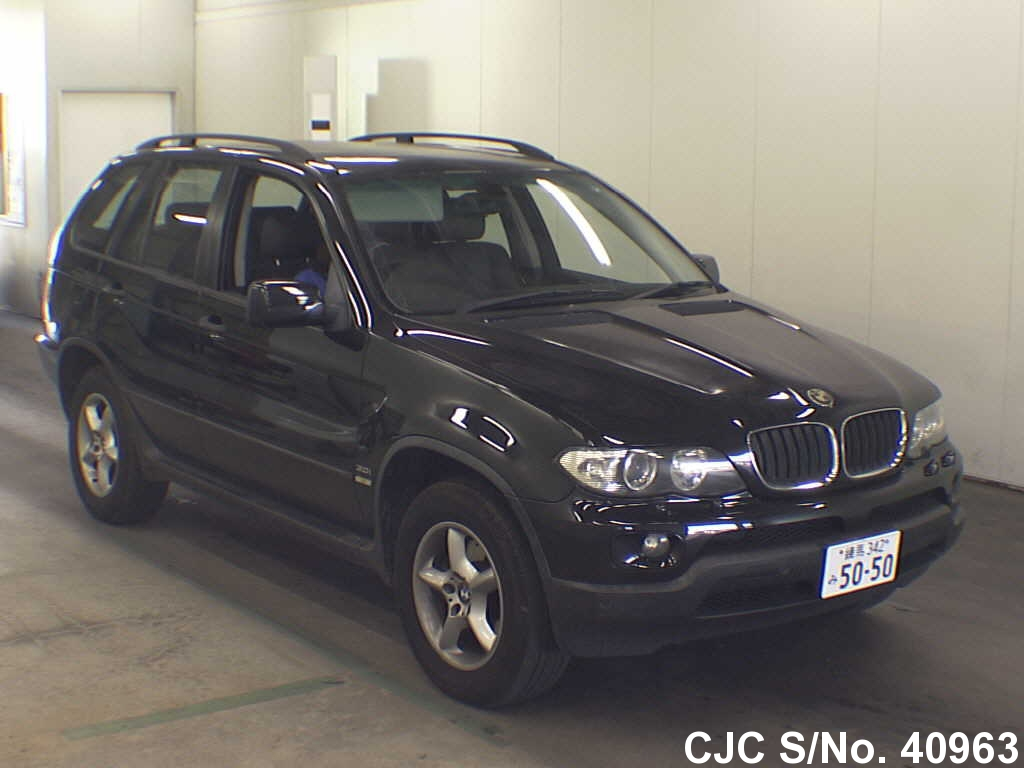 2006 bmw x5 black for sale stock no 40963 japanese used cars exporter. Black Bedroom Furniture Sets. Home Design Ideas