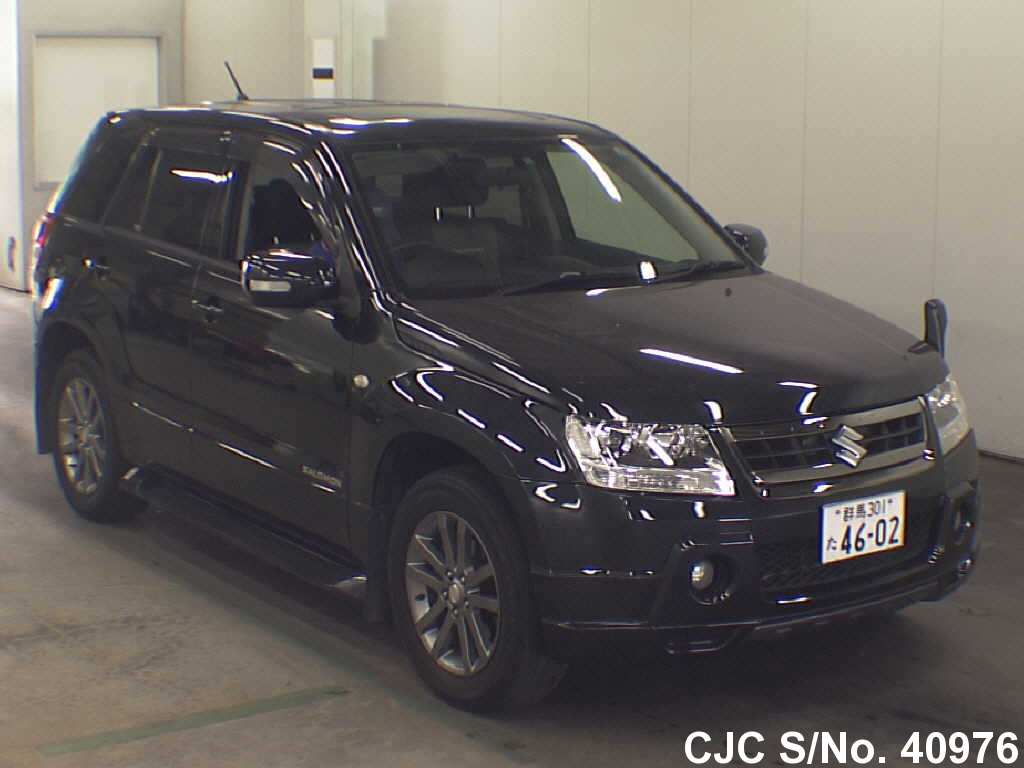 2007 suzuki escudo grand vitara black for sale stock no. Black Bedroom Furniture Sets. Home Design Ideas