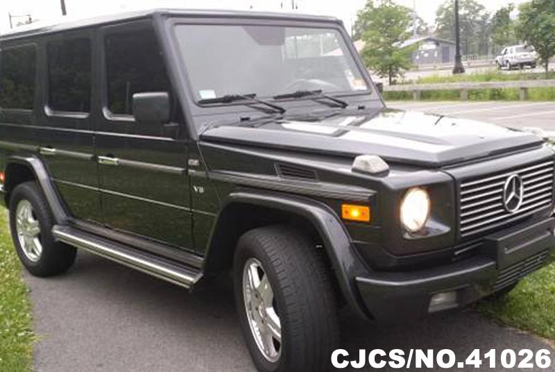 2002 left hand mercedes benz g class black for sale for Mercedes benz g500 used