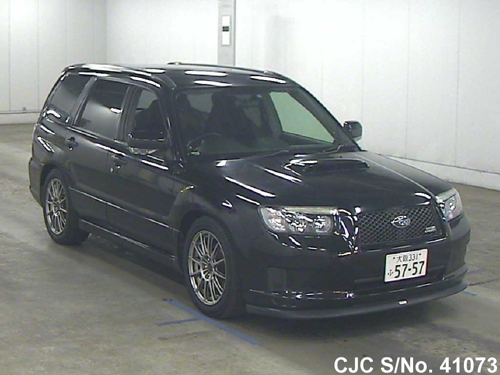 2006 subaru forester black for sale stock no 41073 japanese used cars exporter. Black Bedroom Furniture Sets. Home Design Ideas