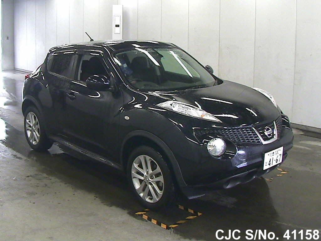 2010 nissan juke black for sale stock no 41158 japanese used cars exporter. Black Bedroom Furniture Sets. Home Design Ideas