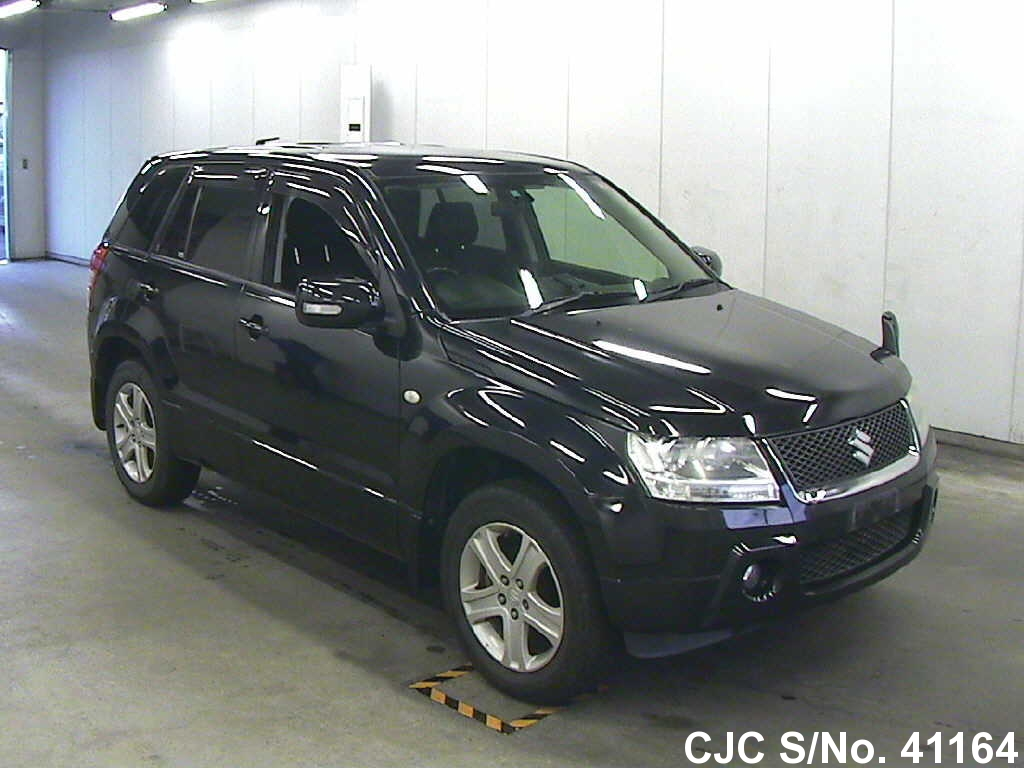 2006 suzuki escudo grand vitara black for sale stock no. Black Bedroom Furniture Sets. Home Design Ideas