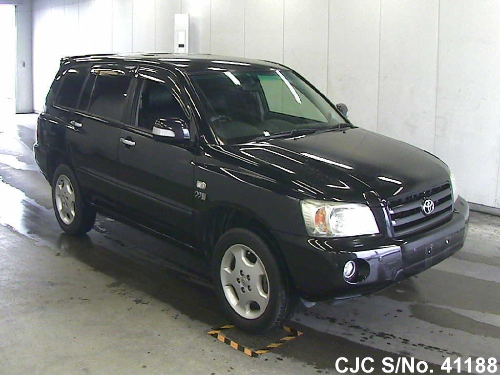 2005 toyota kluger black for sale stock no 41188