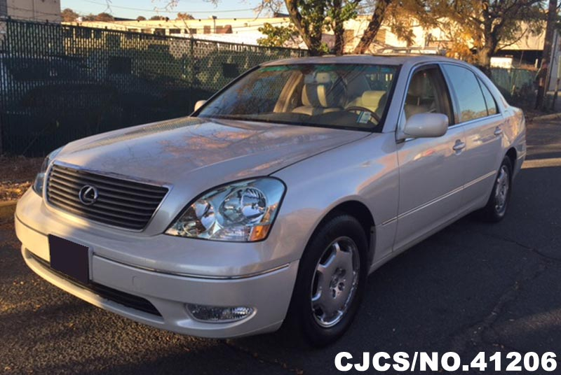 2002 left hand lexus ls430 white for sale stock no 41206 left hand used cars exporter. Black Bedroom Furniture Sets. Home Design Ideas