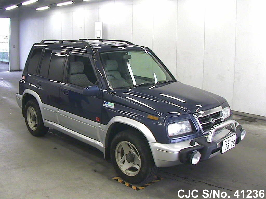 1997 Suzuki Escudo Grand Vitara Blue For Sale Stock No