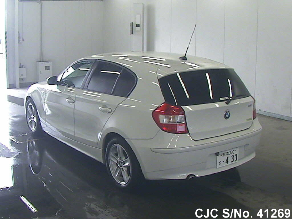 2005 bmw 1 series white for sale stock no 41269. Black Bedroom Furniture Sets. Home Design Ideas