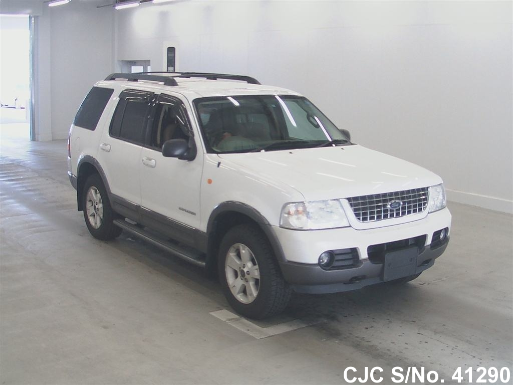 2005 ford explorer white for sale stock no 41290 japanese used. Cars Review. Best American Auto & Cars Review