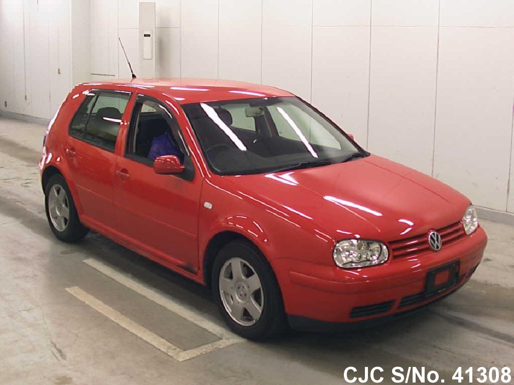 2000 volkswagen golf red for sale stock no 41308. Black Bedroom Furniture Sets. Home Design Ideas