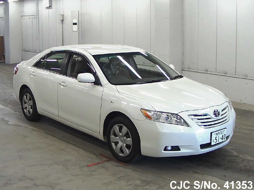 2006 toyota camry pearl for sale stock no 41353 japanese used cars exporter. Black Bedroom Furniture Sets. Home Design Ideas
