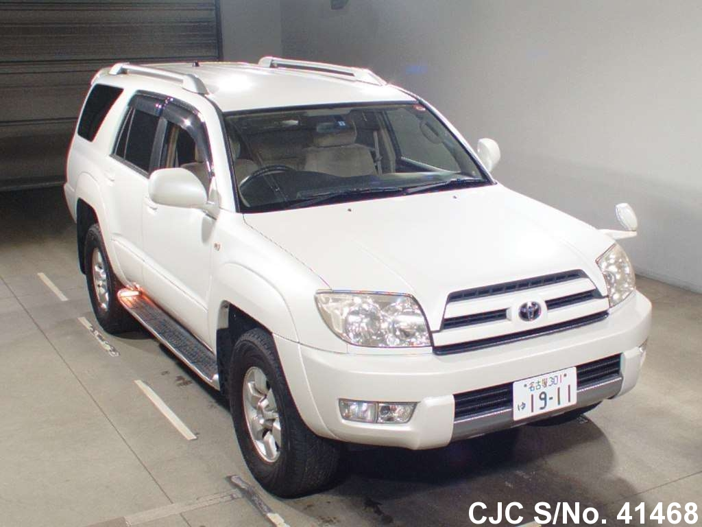 2004 toyota hilux surf 4runner pearl for sale stock no 41468 japanese used cars exporter. Black Bedroom Furniture Sets. Home Design Ideas